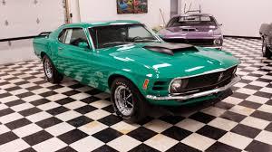 Rare 1970 Ford Mustang Boss 429 Grabber Green ~ For Sale American ...