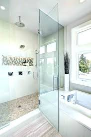 large walk in shower terrific showers without doors luxury bathroom interior with terr