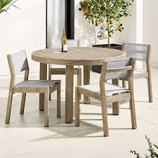 portside outdoor 48 round dining table