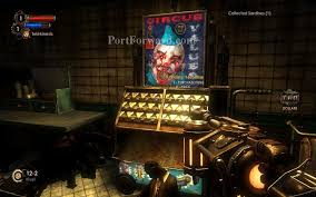 Bioshock Vending Machine Fascinating Bioshock 48 A Vending Machine With A Clown Face Can Be Used To