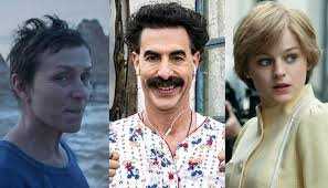 Golden Globes 2021 Awards Winners: NOMADLAND, THE CROWN, BORAT SUBSEQUENT  MOVIEFILM, & More | FilmBook