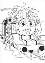 Kids N Funcom Coloring Page Thomas The Train Thomas The Train