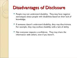 online dating disclosing disability