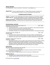 Flag Staff Navy Administration Resume Examples Perfect Resume Format