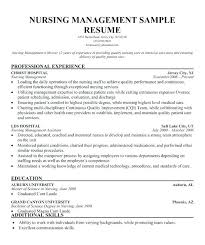 Psychiatric Nurse Resume Examples Of Nursing Resumes And Cover ...
