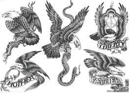 Motiv Tetování Orel 166