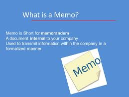 Anatomy Of A Business Memo Almost Everything You Need To Know… Mr ...