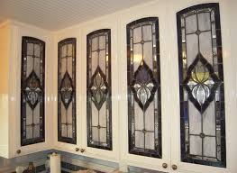 kitchen cabinet stained glass doors awesome stained glass kitchen cabinet doors for 15 ideas door design