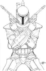 jango fett coloring page. Delighful Jango Star Wars Jango Fett Coloring Pages Intended Jango Fett Coloring Page N