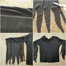 easy diy morticia addams costume