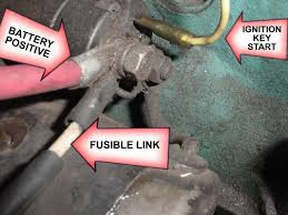 240z main fuse nissan datsun zcar forum nissan z forum 240z it any ol stranded wire bought over the counter your z will go up in flames if another mishap or short occurs replace it fusible link