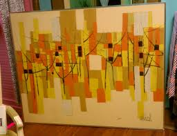 mid century lee reynolds abstract painting