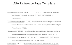 Professional References List Template Beauteous Reference Page Template For Paper Virtualis