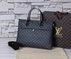 whole 1 1 quality lv men bag real leather wallet louis vuitton laptop bag 8