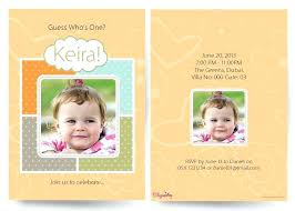 1st year birthday invitation first cards in indian style