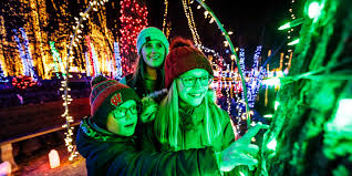 Olin Turville Park Lights Holiday Lights 7 Spectacular Shows In Wisconsin Travel