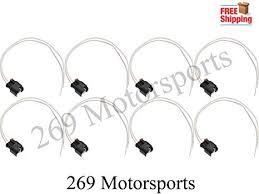 amazon com fuel injector connector wiring harness kit fits wrangler