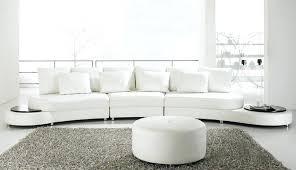 white leather modern sofa set b