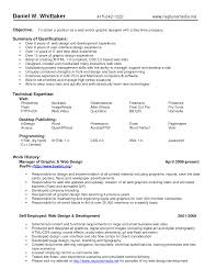 Qualifications In Resume Examples Resume Qualification