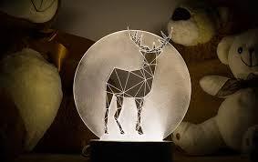 full moon deer lamp 10 whimsical wildlife shaped creations for animal