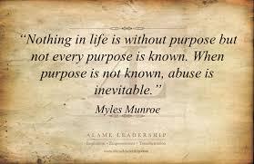 Purpose Quotes Extraordinary AL Inspiring Quote On Purpose Alame Leadership Inspiration