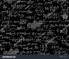 Math Endless Texture Formulas Figures Mathematical Stock Vector (Royalty  Free) 321784130