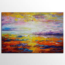 <b>Oil Painting</b> Landscape, <b>Abstract</b> Art, <b>Canvas Painting</b>, <b>Mountain</b> ...