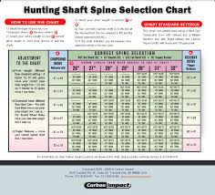 Compound Bow Arrow Weight Chart Arrows 101 Archery At Its Best