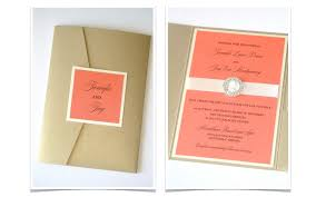 Jennifer Pocketfold Crystal Buckle Invitation Set Sample Ivory