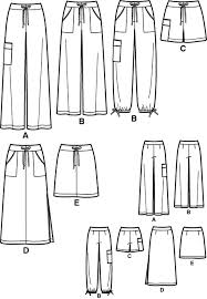 Pants Patterns Cool Simplicity 48 Wideleg Pants
