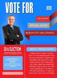 Free Election Campaign Flyer Template Free Political Campaign Flyer Templates 11 Free Political Campaign