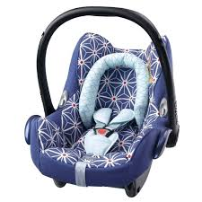 car seat maxi cosi car seat baby blue star newborn head support
