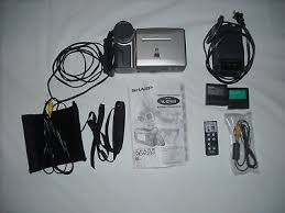 sharp viewcam 8 accessories. sharp viewcam model vl-e760u video 8 camcorder accessories