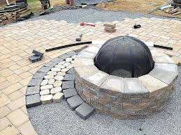 concrete patio with square fire pit. Rumblestone Fire Pit Rumble Stone Awesome Luxury Concrete Patio With Square