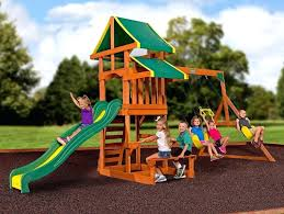 childrens outdoor playsets childrens outdoor plastic slides