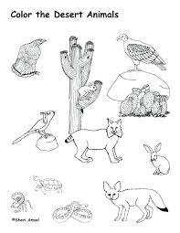 desert animals coloring pages desert animals coloring page free printable desert animal coloring pages