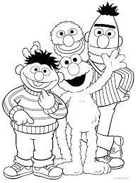 Sesame Street Coloring Pages Best Coloring Pages 2018