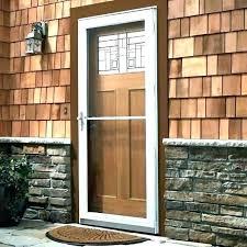 pella rolscreen retractable patio screen doors sliding door 3 panel glass home depot spectacular in invisible slide d