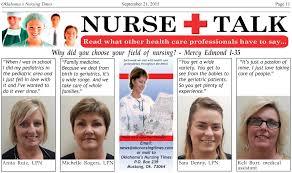 Nurse Talk Why Did You Choose Your Field Of Nursing