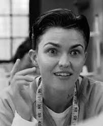 ruby rose orange is the new black wink. posted image ruby rose orange is the new black wink