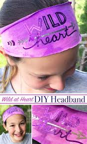 how to make your own easy t shirt headband plug free svg from jen goode