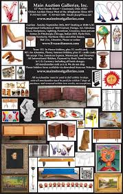 exceptional mid century modern design sunday september 24th the main auction galleries inc
