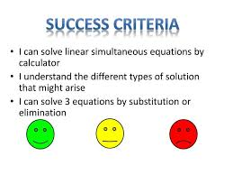i can solve linear simultaneous equations by calculator