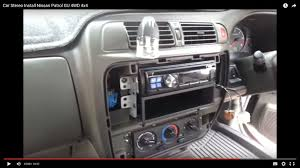 nissan patrol stereo wiring harness nissan image car stereo install nissan patrol gu 4wd 4x4 on nissan patrol stereo wiring harness