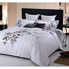 li rare orchids collection 200 thread count cotton percale duvet cover set queen purple duvet covers sets best canada super king duvet covers