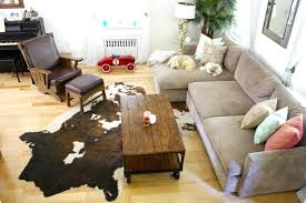 home and furniture traditional cowhide rug on rugs from apartment therapy cow skin ikea sheepskin game cow skin rug ikea