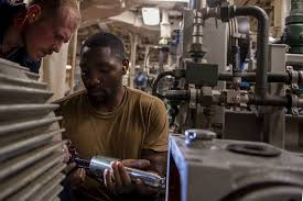 Navy Machinist Mate Dvids Images U S Navy Engineman 1st Class Blake