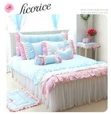 pink ruffled bed skirt fresh blue bedding set bed set for girl type ruffle bed linen hot pink ruffled bed skirt pink ruffle bed skirt full