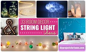 diy lighting projects. 33 awesome diy string light ideas diy lighting projects