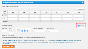 Employee Master File Pay To Schedule Time Trinet